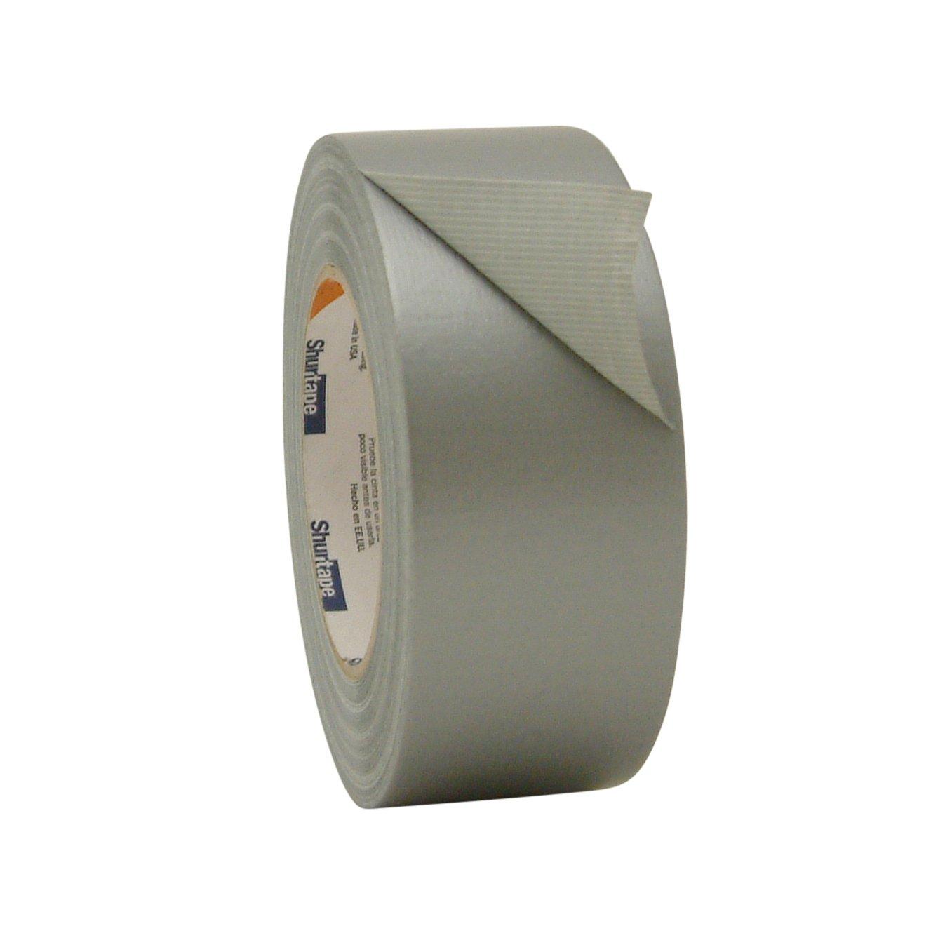 AGN 120954 Shurtape PC-460 Economy-Grade Grade Duct Tape: 2'' x 60 yd, Silver