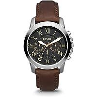 Fossil Grant Chronograph Black Dial Men's Watch - FS4813