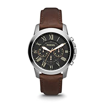 Buy Fossil Grant Chronograph Black Dial Men s Watch - FS4813 Online at Low  Prices in India - Amazon.in c53f5e4162