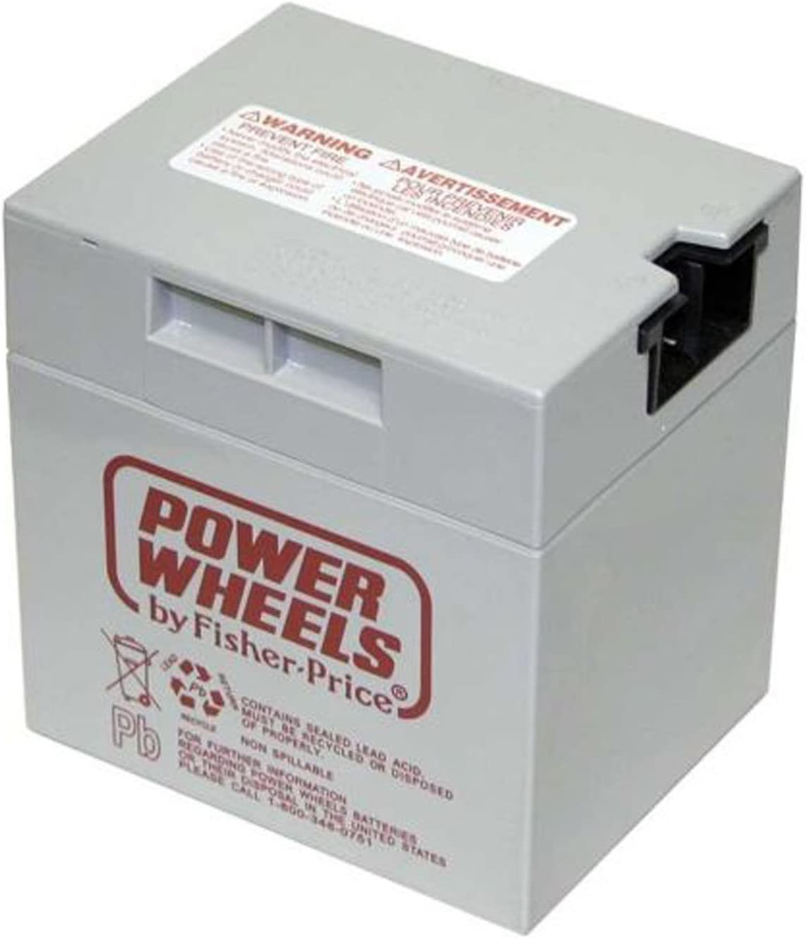 Charger For 00801-0638 Power Wheels Fisher Price 12V Volt Gray Battery Charger