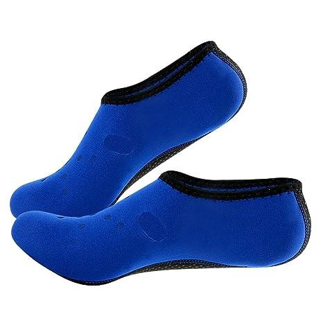 Merssavo 1 Par Calcetines de Neopreno de 3 mm Botas para Bucear Traje de Baño de