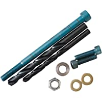 Eagle Mfg. Subframe Bolt Upgrade Kit for Tusk and SW Motech Crash Bars - Fits: Kawasaki KLR650 1987-2018
