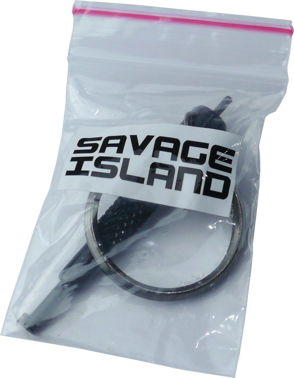 Savage Island Llave para Esposas Universal con Anilla para Seguridad