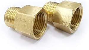 Brass Pipe Fitting Reducer Adapter G1/2
