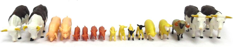 Tomy Farm - Pack de Animales de Granja (Bizak 30693096)