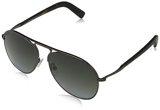 48d4f85be42 Amazon.com  Tom Ford Sunglasses TF 448 Cody 08B Gunmetal 56mm  Clothing