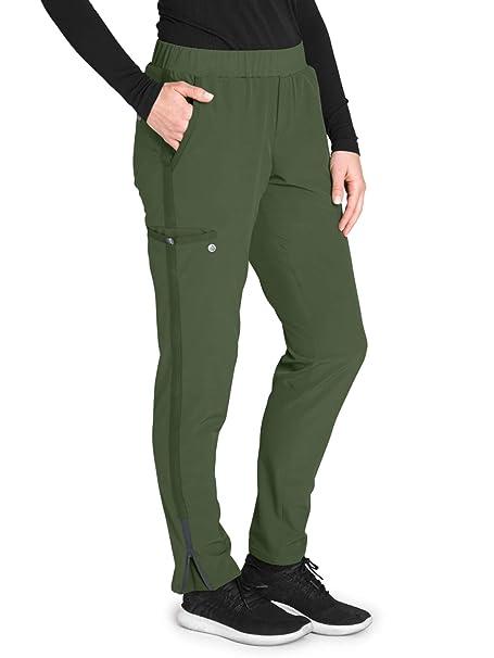 1c80f627ab0 Barco One Wellness BWP505 Women's Modern Fit 5-Pocket Knit Waist ...