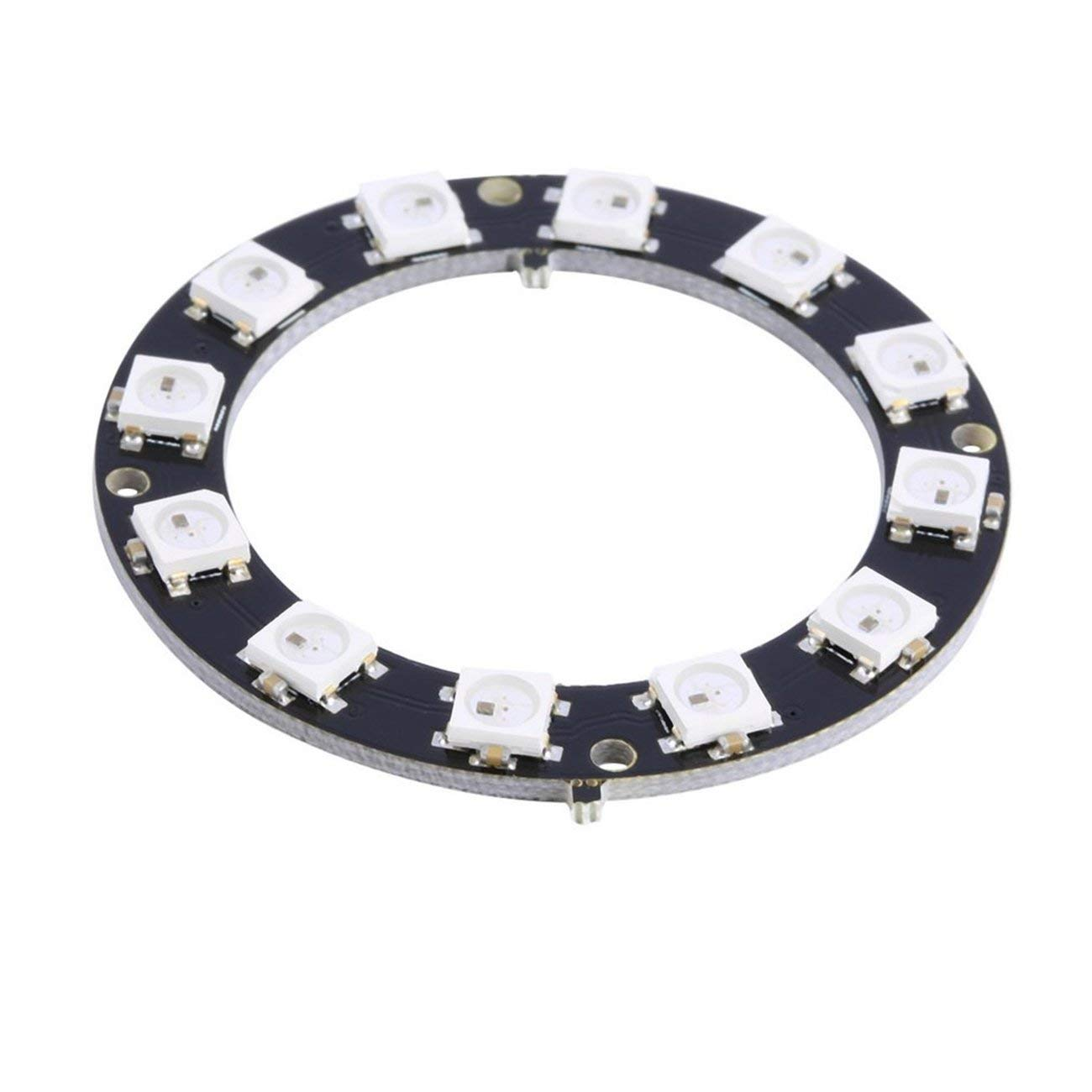 12-Bit WS2812 5050 RGB LED Ring Round Decoration Bulb Perfect For Arduino