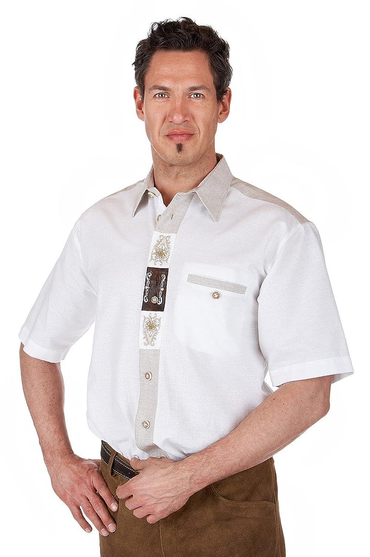 Orbis Textil H073 - Trachten Herren Hemd mit 1/2-Arm