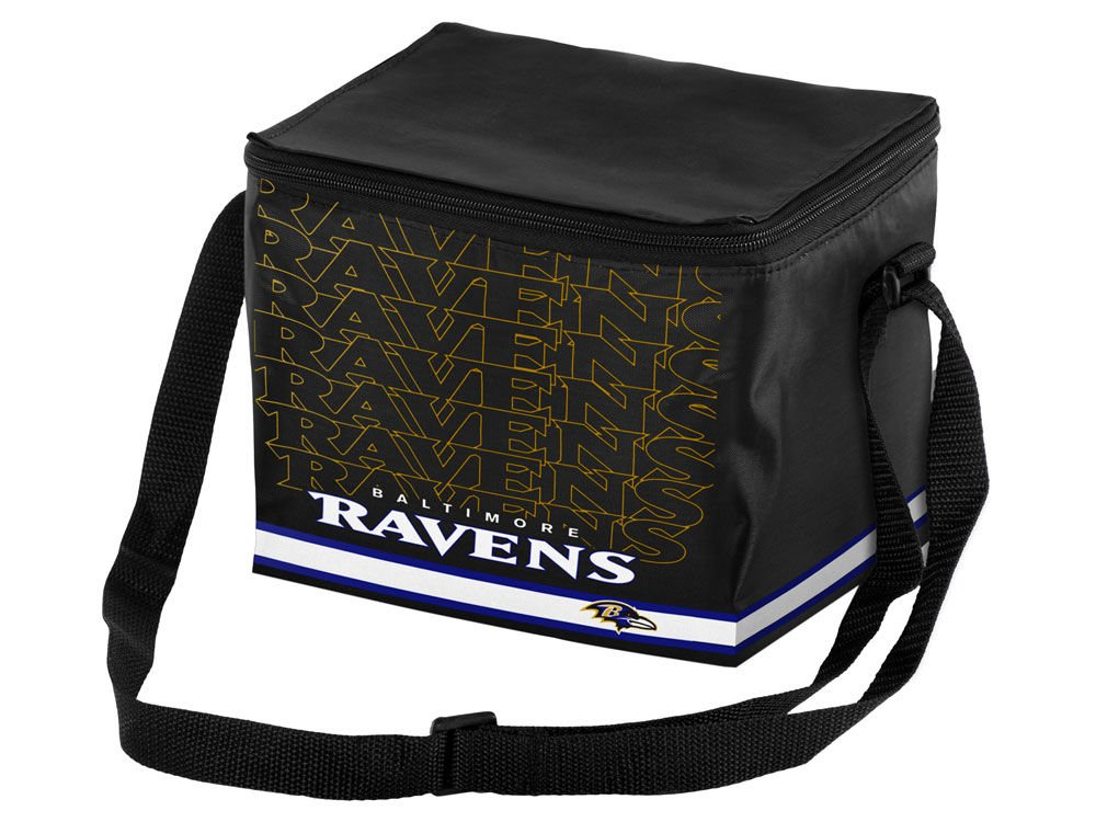 NFL Baltimore Ravens Impact Cooler, Black by Forever Collectibles