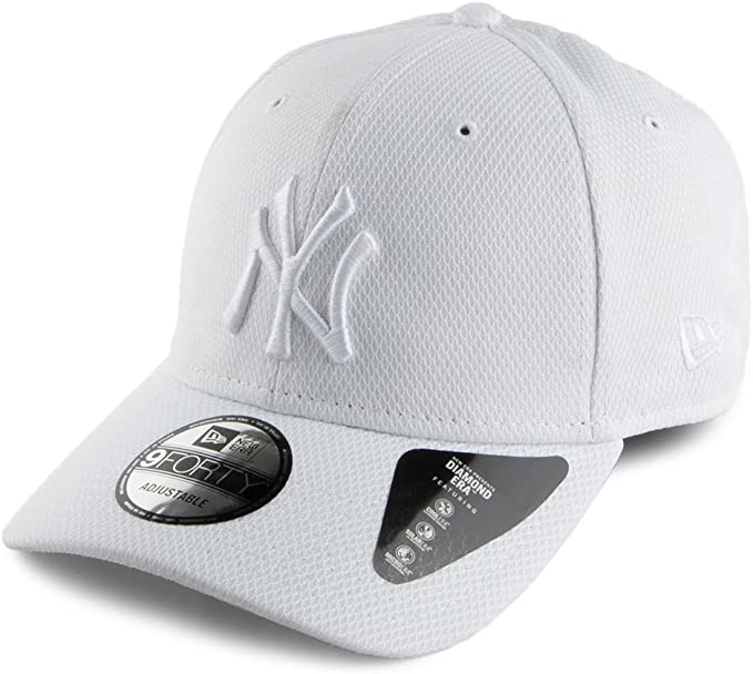 New Era 9forty New York Yankees Damen Kappe Wei/ß