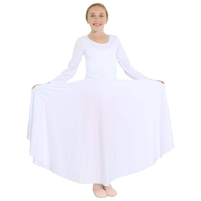 Robe /à Manches Longues pour Danzcue Fille S/'adapte /à l/'air Libre