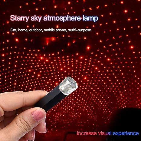 Proyector de Coche Star Lights Lámpara de Noche Galaxy USB ...
