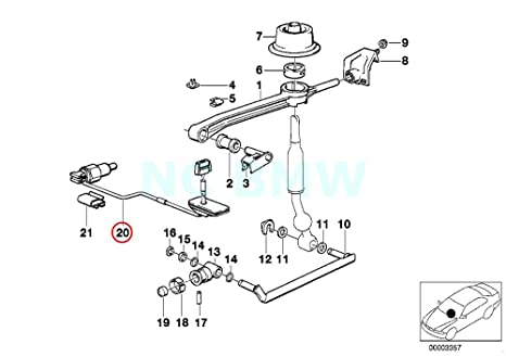 Amazon Com Bmw Genuine Tubing Backup Light Switch Automotive