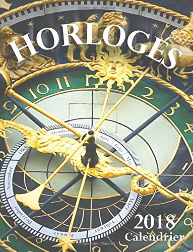 Horloges 2018 Calendrier (Edition France)  [Wall Publishing] (Tapa Blanda)