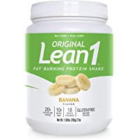 Lean1 Banana, 15 Serving tub, Fat Burning Meal Replacement by Nutrition53