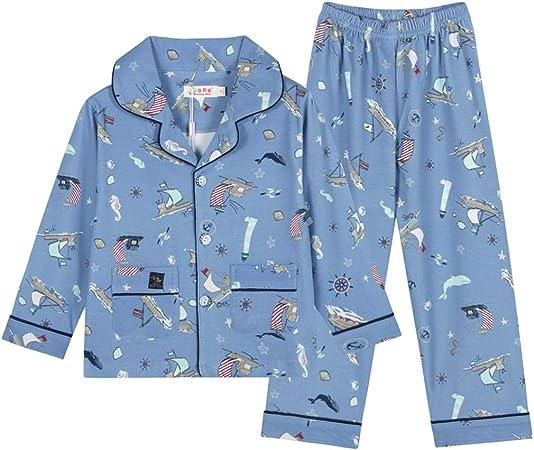 Conjunto de Pijamas para niños Pijamas de niños Pijamas de Manga ...