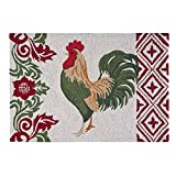 Cheap C&F Home Rooster Hooked Rug, 2′ x 3′ , Blue