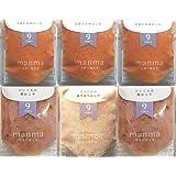 無添加・有機米・無農薬野菜のベビーフード「manma 四季の離乳食」(6個セット【9か月】)