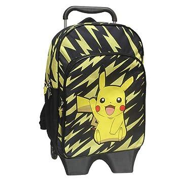 pokemon mc 221 pk 42 cm pikachu trolley with detachable backpack