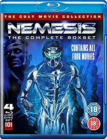 Nemesis Complete Collection 1-4 - 4-Disc Set Nemesis ...