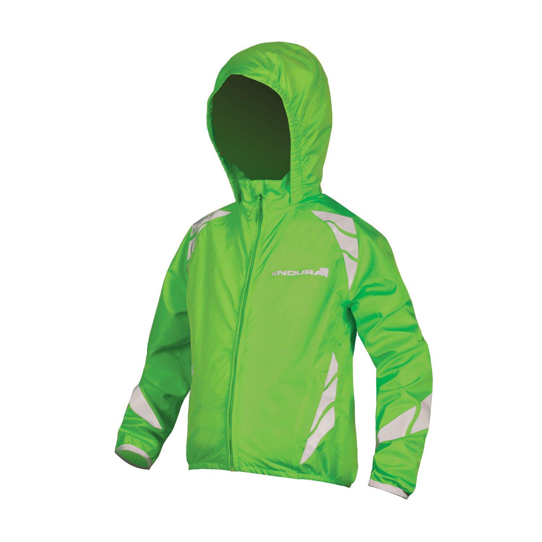 Endura Kids Luminite Cycling Jacket II Hi-viz Green, Small