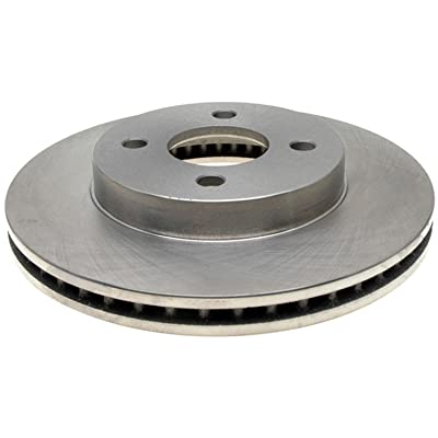 ACDelco 18A1585A Advantage Non-Coated Front Disc Brake Rotor: Automotive