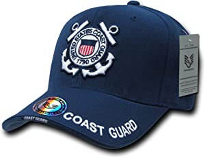 Rapiddominance Coast Guard The Legend Military Cap, Navy