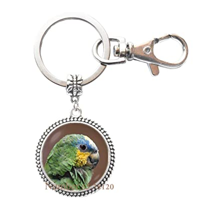 Amazon.com   Orange Winged Parrot Keychain Parrot Key Ring Gift for Women  Parrot Jewelry Birds Jewelry Birthday Gift Parrot Lover Gift Men Gift 09c28c6a0