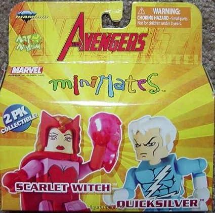 Marvel Minimates TRU Toys R Us Wave 16 Captain America /& Scarlet Witch