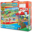 The Learning Journey Puzzle Doubles Search and Learn Farm Floor Puzzle
