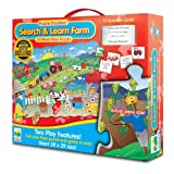 : The Learning Journey Puzzle Doubles Search and Learn Farm Floor Puzzle