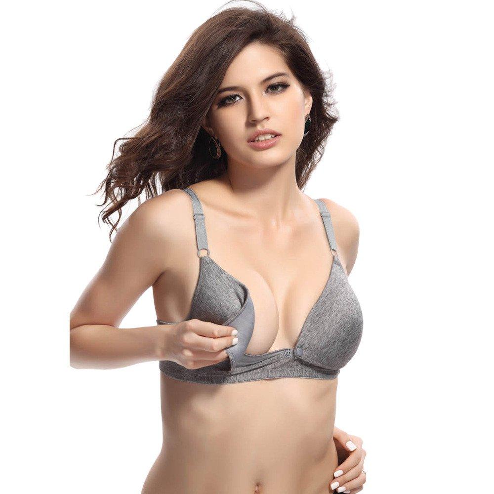 STRIR Sujetador De Lactancia y Premamá con Aros y Relleno para Mujer