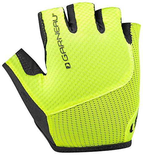 Louis Garneau - Women's Nimbus Evo Bike Gloves, Bright Yellow, (Garneau Womens Glove)