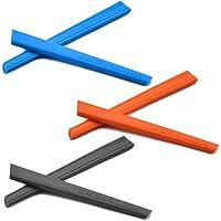 SOODASE 3 PCS Kit de goma de silicona Earsocks de repuesto Para Oakley Crosslink Pitch Gafas de sol