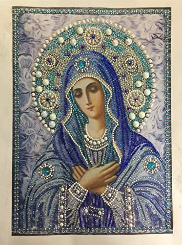 Banstore 5D Full Diamond Painting Kit DIY Rhinestone Embroidery Full Drill Cross Stitch Arts Craft for Home Wall Decor