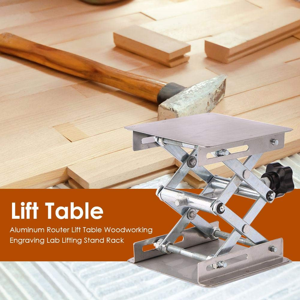 Lifting Stand Rack, Aluminum Router Lift Table Woodworking Engraving Lab Lifting Stand Rack by ttnight (Image #4)