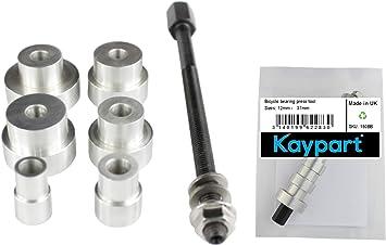 Kaypart Cojinete de bicicleta manual Herramienta de prensa para ...