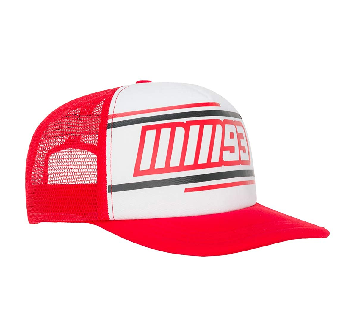MM93 Gorra Marc Marquez - Camionero Blanco: Amazon.es: Ropa y ...