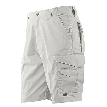 bd5fe0b1fe TRU-SPEC Men's 24-7 Polyester Cotton Rip Stop 9-Inch Shorts: Amazon ...