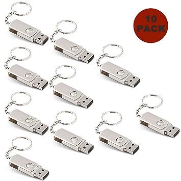 A Plus+ 10 Piezas Estilo Sencillo Memoria USB de 32GB con ...
