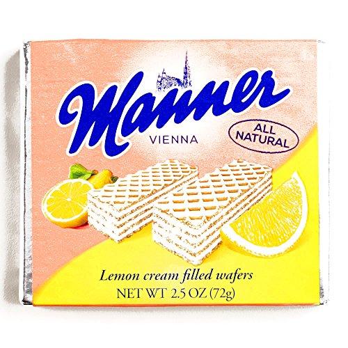 - Manner Lemon Wafers 2.54 oz each (1 Item Per Order)