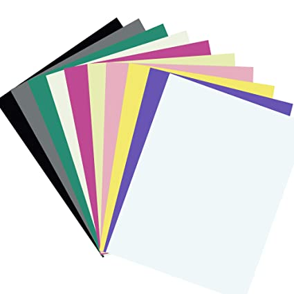 Amazon Com Diy Paper Cardstock 100 Sheets 10 Vivid Color Cardstock