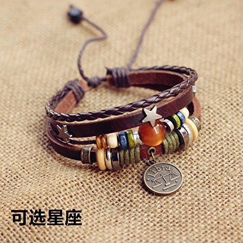 Tri-row tapered exaggerated punk retro rivet cortical width multilayer animation around jewelry bracelets