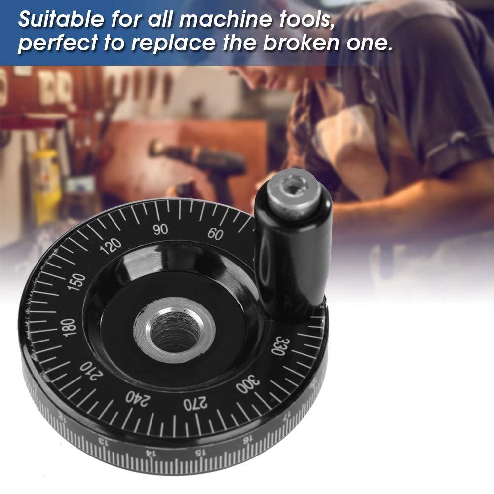 smerigliatrici scala di volantino in bachelite solida da 63 mm Ampiamente usato in macchine industriali come fresatrici Volantino di fresatura torni