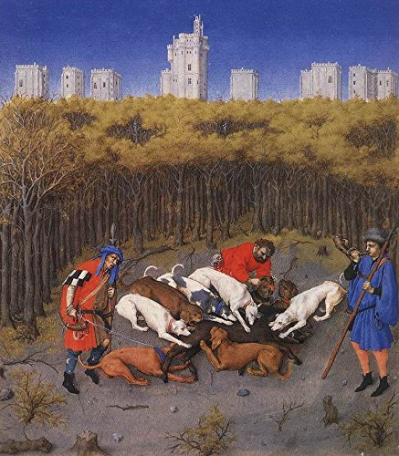 The Very Rich Hours of the Duke of Berry: December by Limbourg Brothers - 20