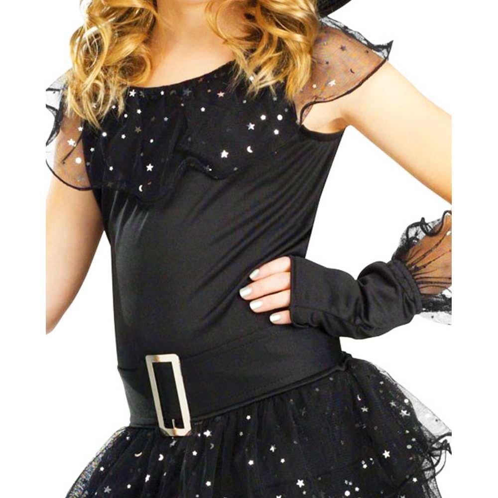 Amazon.com Fun World Girls Glitter Witch Costume Black Large 12-14 Toys u0026 Games  sc 1 st  Amazon.com & Amazon.com: Fun World Girls Glitter Witch Costume Black Large 12 ...
