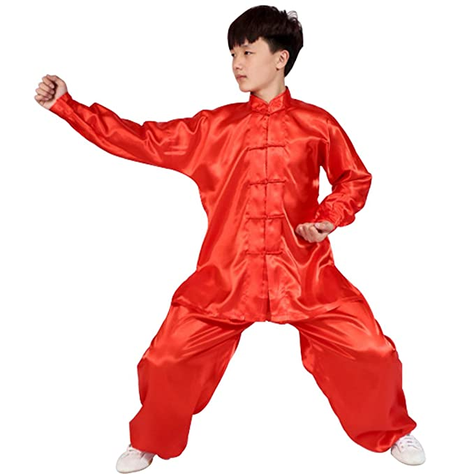 Amazon.com: Fulision Mens and Womens Kungfu Clothing Tai ...