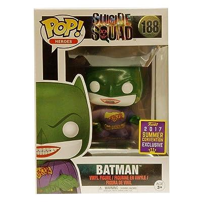 Funko Pop! SDCC 2020 Suicide Squad Joker Batman, Limited Edition Summer Convention Exclusive: Toys & Games