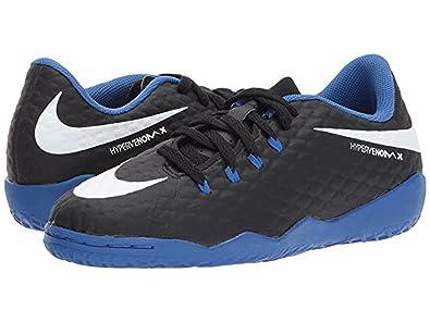 182ab4b8b Nike Junior Hypervenomx Phelon III Indoor Shoes  Black  (1.5Y)